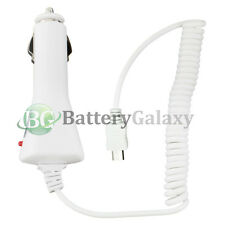White Micro USB Car Charger for Samsung Galaxy S 3 4 S3 S4 III IV Mini Active