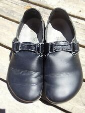 Alpro Birkenstock London Black Leather Unisex Size 36
