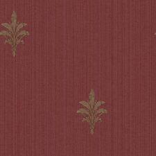 York Wallcoverings Riverside Par FD8533 French Detail Wallpaper, Burgundy