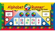 Alphabet Runner Board Game. It's a race to the finish!