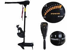 "36"" Trolling Motor 46lbs 12V Electric Transom Mounted Freshwater Fishing Boat"