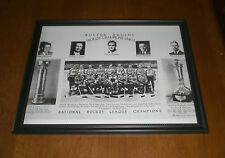 1940-41 WORLD CHAMPIONS BOSTON BRUINS FRAMED TEAM PRINT