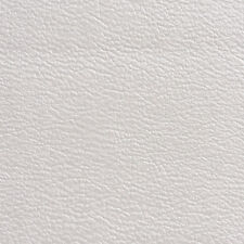 G357 White Metallic Leather Grain Upholstery Faux Leather By The Yard