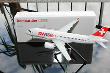 SWISS Bombardier CS100, 1:200, Corporate Modell für Swiss, 1:200, LUPA