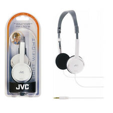 JVC Stereo Headphones New White HA-L50-W for iPod MP3 Overhead Portable Audio