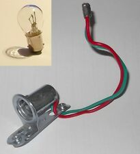 Lucas Wing Side/Indicator Light BULB HOLDER UNIT with 12v 21/5w offset bayonet