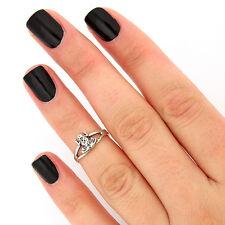sterling silver knuckle ring frog design midi ring adjustable Knuckle Ring T-28