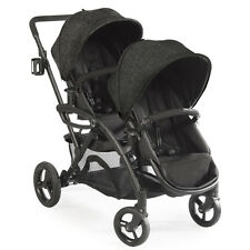Contours 2016 Options Elite Tandem Stroller in Black Carbon Brand New!!