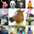 Multi-Funny Latex Animal Horse Head Mask Cosplay Halloween Costume Party Prop