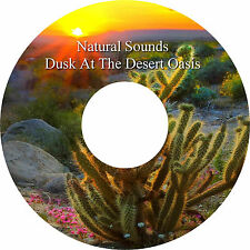 Naturale Sounds Desert Oasis CD Relaxation Aiuta Il Sonno Antistress Heal