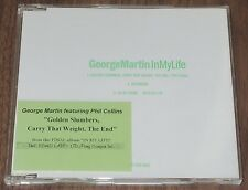 GEORGE MARTIN & PHIL COLLINS Japan PROMO ONLY CD official THE BEATLES In My Life