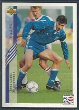 UPPER DECK WORLD CUP USA 1994- #112-GREECE-ANASTASIOS MITROPOULOS