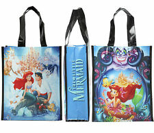 Disney LITTLE MERMAID Movie Poster Small Shopper Tote Reusable Grocery Bag ARIEL