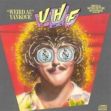 UHF Soundtrack [1st Press] by Weird Al Yankovic (CD 1989 Scotti Bros, ZK 45265)