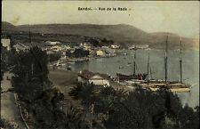 Bandol Frankreich 1907 Vue de la Rade Blick auf Bucht Segelschiffe Hafen Harbor