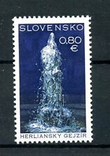 Slovakia 2016 MNH Herlany Geyser 1v Set Toursm Sites & Scenes Stamps