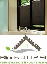 Pleated Blind~Door Blind~Window Blind~Made To Measure~Any Colour~50cm W X 50cm H