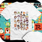 Spirited Away Spirited Miyazaki Hayao Cartoon Cotton Short Sleeve T-shirt