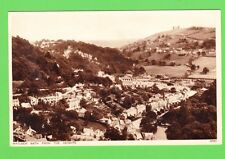 Vintage Postcard. Matlock Bath from the heights. Derbyshire