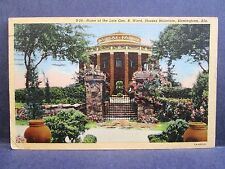 Postcard AL Birmingham Home of Late George Ward Shades Mountain