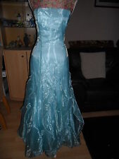 TRULY STUNNING DRESS IDEAL FOR A WEDDING PROM ETC JESSICA McCLINTOCK SIZE 10