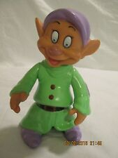 """Disney Snow White Dopey Figure 5 1/4"""" Tall w/ Articulated Arms & Waist"""