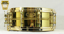"Ludwig Millennium Brass Shell Snare Drum 14"" x 5"" (Number 90 of 100 - LM2000MB5)"