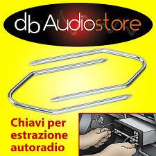 Chiavi chiavette estrazione autoradio NUOVA CROMA dal 2001 auto stereo car KEYS