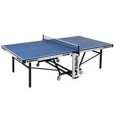 Butterfly Club 25 Rollaway Table Tennis / Ping Pong Table with FREE Shipping