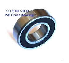 (Qty. 2) 6205-2RS two side rubber seals bearing 6205 rs ball bearings 6205rs