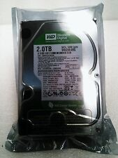 "Western Digital WD 2TB WD20EURX Green internal Hard drive 3,5"" SATA III 64MB 2"