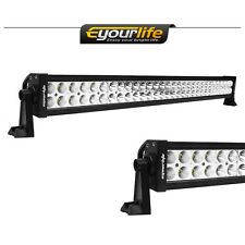 Eyourlife 32inch 180W Automotive LED Trailer Light Driving Offroad Tow Truck ATV