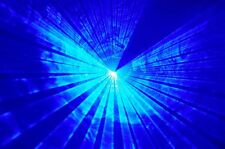 Powerful BLUE Disco Laser Light  dj nightclub pub karaoke party lanling