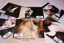 L'ATTAQUE DES MORTS VIVANTS ! joe d'amato  jeu photos cinema lobby cards zombie