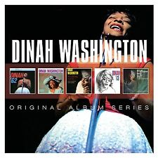 DINAH WASHINGTON 5CD NEW Dinah '62/In Love/Drinking Again/Dinah '63/Back Blues
