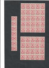 Deutsches Reich, 1923 Michelnr: 317 A **, Bogenteile postfrisch,Katalogwert € 60