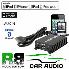Nissan X-Trail 2001 On Car Radio AUX IN iPod iPhone & Bluetooth Interface Cable