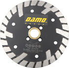 "5"" Premium Dry/Wet Cutting Turbo Rim Diamond Saw Blade for Granite/Concrete"