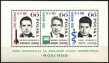 Poland 1964 SG#MS1527a Space Flight MNH M/S  #D39154