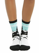 "TOTORO Cosplay Adult GREEN CREW SOCKS STUDIO GHIBLI  ""MY NEIGHBOR TOTORO"" NEW"
