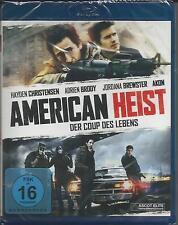 American Heist [Blu-ray] Hayden Christensen Neu!