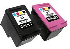 2PK For HP 61 CH561WN CH562WN (New Gen) Deskjet 2546B 2547 2549 3000 3050 3050A