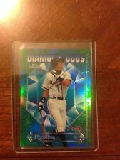 1997 Topps Chrome Diamond Duos Refractor DD1 Chipper Jones Andruw Jones Braves