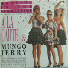 "7"" 1989 MINT- RARE ! A LA CARTE & MUNGO JERRY : Dancing In The Summertime"