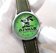 OSWALD The LUCKY RABBIT, RARE! Round,MENS KIDS CHARACTER WATCH,//#34
