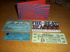 THE BEATLES CONCERT TICKET SET