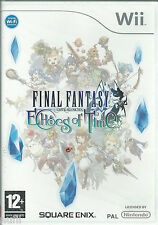 FINAL FANTASY  CRYSTAL CHRONICLES  Wii  - Nuevo sin desprecintar PAL España