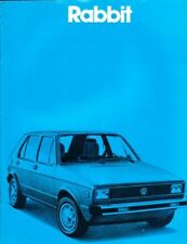 1980 80 VW Rabbit  original sales brochure