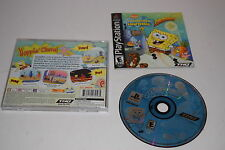 SPongebob Squarepants SUPERSPONGE Sony Playstation PK1 Game COMPLETE TESTED
