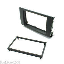 CT24SZ13 SUZUKI SWIFT 2005 to 2010 BLACK DOUBLE DIN FASCIA ADAPTER PANEL